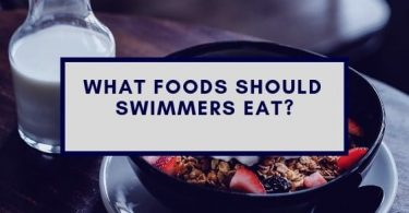foods swimmers should eat on a table