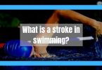 What is a swimming stroke?