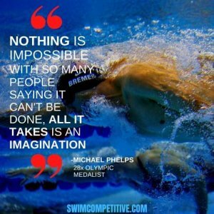 inspirational swimming quote