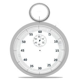 clock for swimming intervals