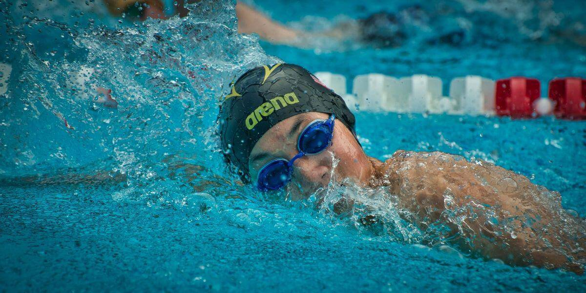 long distance swimming technique